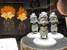 Beautiful Brave concept art takes you behind the ginger curls of Pixar's first…:
