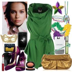 Party outfit for Mardi Gras (What to wear - Mardi Gras)