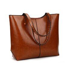 PrimaLuce Women's Vintage Genuine Leather Tote | Shoulder Bag | Top Handle Satchel (This is an affiliate pin) Satchel Purse, Tote Bag, Patent Leather Handbags, Top Pattern, Crocodile, Vintage Ladies, Satchels, Shoulder Bag, Purses