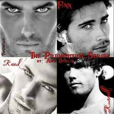 The guys of the Premonition Series by Amy A. Bartol! One of my favorite paranormal series!!
