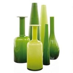 green vases - Google Search