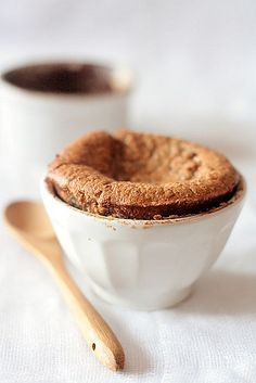 chesnut chocolate souffles