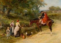 Hardy, Heywood (b,1842)- Hitching Ride