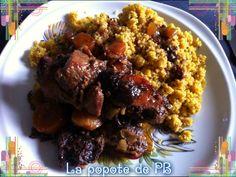 Sauté de porc aux pruneaux et au lard à la mijoteuse - Popote de petit_bohnium