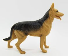 Marx Flick shepherd dog from Johnny West Best of the West action figure #Marx
