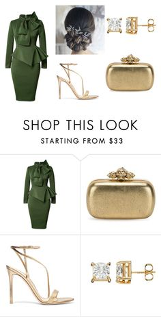 """Untitled #16"" by lineocarol on Polyvore featuring Alexander McQueen and Gianvito Rossi"