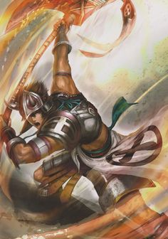 """The Lords of northern Tyrakawa have long used axes, as both weapons and tools for survival, as alternative to the sword. This earned them the moniker """"Axe Lords"""" from their southern counterparts."""