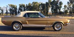 1968 SHELBY GT350 CONVERTIBLE - Barrett-Jackson Auction Company - World's Greatest Collector Car Auctions