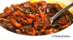 Prawns Pickle (Kerala Style) - Chillies