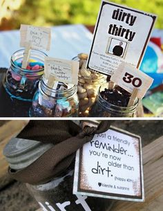 Birthday Party Theme Ideas: Older than Dirt or Dirty Thirty Party Theme 30th Party, 30th Birthday Parties, Birthday Party Themes, Birthday Ideas, 30th Birthday For Him, Birthday Week, Party Time, Big Party, Party Planning