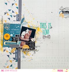 SCRAP KITS & CO: Kit principal d'octobre - This is Love