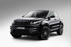 2014 Larte Design Range Rover Evoque Black #9