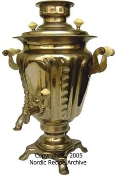 Russian Tea Samovar. Grand!