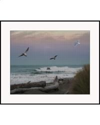 Ocean Shores  Counted cross stitch to try
