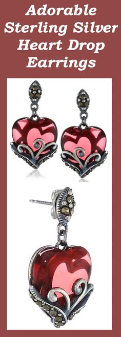 Amazon Collection Sterling Silver Heart Earrings Review