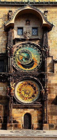 600 years old Astronomical Clock II, Prague, Czech Republic • Dennis Barloga