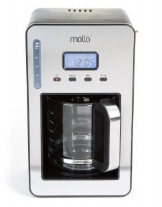 7. Molla Perfect Drip Programmable Coffee Maker – Drip Coffee Makers