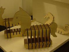 MiDonDolo_ Dondolo listelli presentato al Salone Satellite 2012