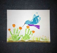 Mother's day handprint craft