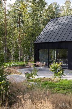 Modern Barn House, Modern Cottage, Modern House Design, Tiny House Cabin, My House, Scandinavian Cabin, Surf House, Villa, Shed Homes