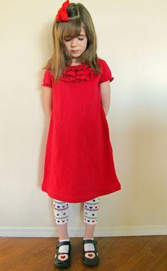 Little Ruffle Dress Tutorial