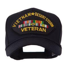 Veteran Military Large Patch Cap - Vietnam DS