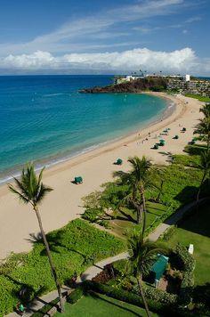 Ka'anapali Beach, Maui - the Kaanapali Beach Hotel is in a great location and very reasonable!