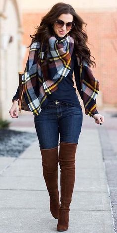 Trendy Fall Fashion Outfits To Copy Right Now Cute Fall Outfits, Winter Fashion Outfits, Fall Winter Outfits, Modest Fashion, Look Fashion, Autumn Winter Fashion, Trendy Outfits, Womens Fashion, Ladies Fashion