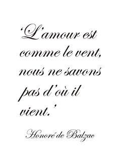 L'AMOUR EST COMME LE VENT..