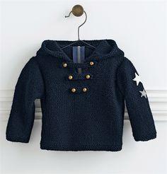 Bergere de France Hooded Sweater Pattern. 6-36 months