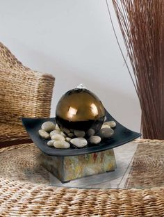 Small and Affordable Tabletop Water Features That Help Reduce Stress