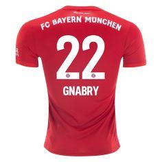 adidas Serge Gnabry Bayern Munich Home Jersey Soccer Gear, Soccer Kits, Soccer Cleats, Soccer Jerseys, Serge Gnabry, Fc Bayern Munich, Football Tops, Soccer Store, Team Gear