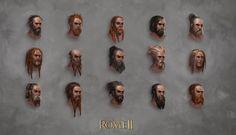 Total War: Rome II - Barbarian Head Designs 1 by telthona.deviantart.com on…