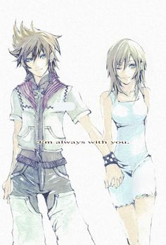 Roxas & Namine (Kingdom Hearts)