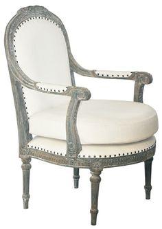 Fabian Chair - Weathered finish