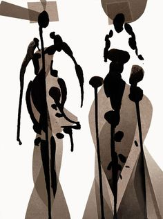 Fashion illustration - stylised fashion sketch // Tobie Giddio
