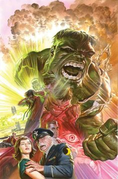 Savage Hulk #1 - 75th Anniversary Variant by ALEX ROSS