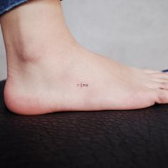 TIny tat by Witty Button