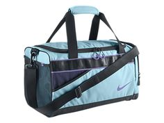 The Nike Varsity Duffel Bag. Nike Store, Nike Duffle Bag, Duffel Bags, Nike Bags, Gym Bags, Cute Backpacks, School Backpacks, Purple Bags, Blue Nike