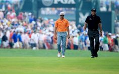 Rickie Fowler and Phil Mickelson emptied the tank at Valhalla. (Getty ...