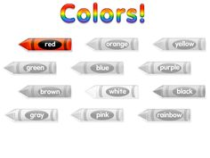 Colors - Kalona, my niece, should use this website to get to know her colors.