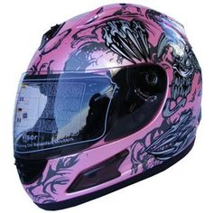 Full Face Motorcycle Sports Bike Helmet Monster Sport Bike Helmets, Street Bike Helmets, Street Bikes, Sport Bikes, Full Face, Motorcycles, Sports, Pink, Stuff Stuff