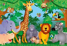 children's cartoon animal pictures - Google Search