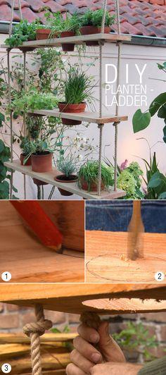 DIY: Plantenladder - Eigen Huis & Tuin