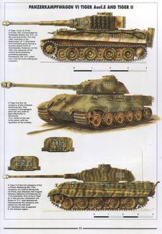Tiger I and II (Porsche Turret)