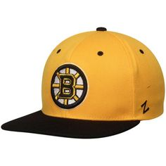 buy popular 3b10d 33c82 Men s Boston Bruins Zephyr Gold Black Z11 Snapback Adjustable Hat, Your  Price   27.99