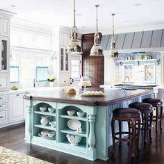 Inspiracja French Cottage Kitchen