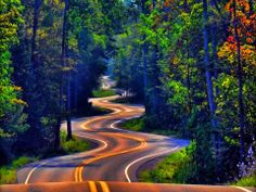 ..long and winding road...