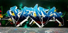 Rap sprays and other stupid fresh awesomeness. Graffiti Piece, Best Graffiti, Graffiti Tagging, Graffiti Artwork, Graffiti Drawing, Graffiti Alphabet, Graffiti Lettering, Street Art Graffiti, Typography