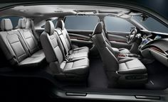 2016 Acura MDX Inside